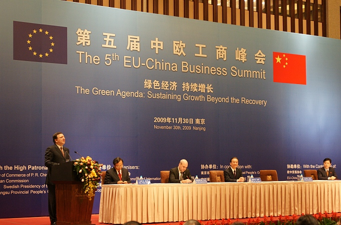 European and Chinese Business Leaders Discuss the Green Agenda at the 5th EU-China Business Summit